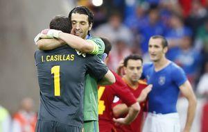 Buffon: Ahora, Iker es aún mucho más grande para mí como hombre
