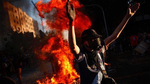 Decimotercer día de protestas en Chile y Halloween en Punta Cana: el día en fotos
