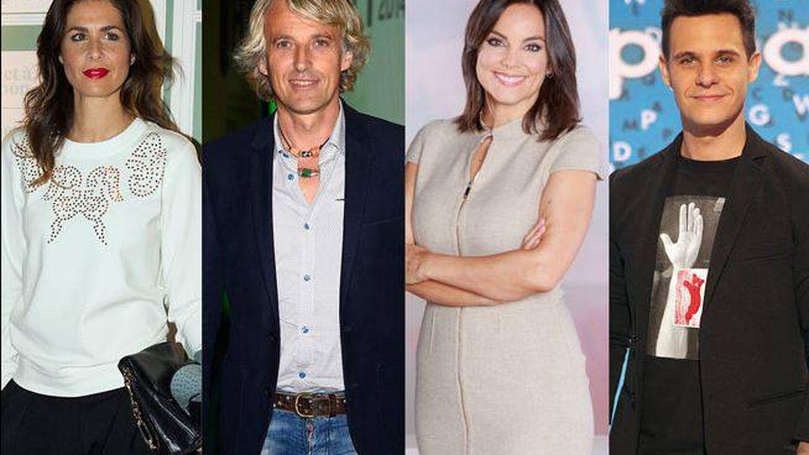 Foto: Los diez presentadores en los que el público confía.