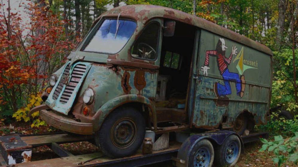 Foto: La furgoneta de Aerosmith apareció en un programa de cazatesoros (Foto: American Pickers/History Channel)