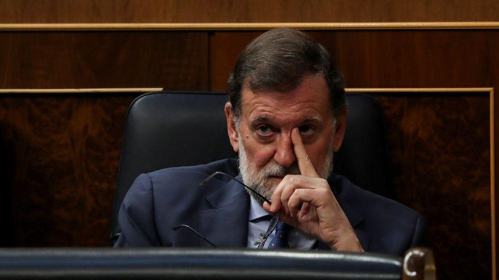 Foto: Mariano Rajoy, este miércoles en el pleno del Congreso. (Reuters)