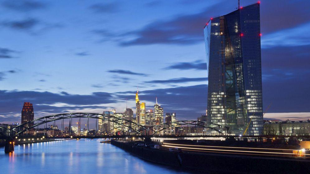 Foto: Fachada de cristal del edificio del Banco Central Europeo en Fráncfort (EFE)