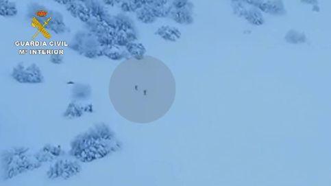 La Guardia Civil rescata a un hombre atrapado durante ocho días por la nevada en Asturias