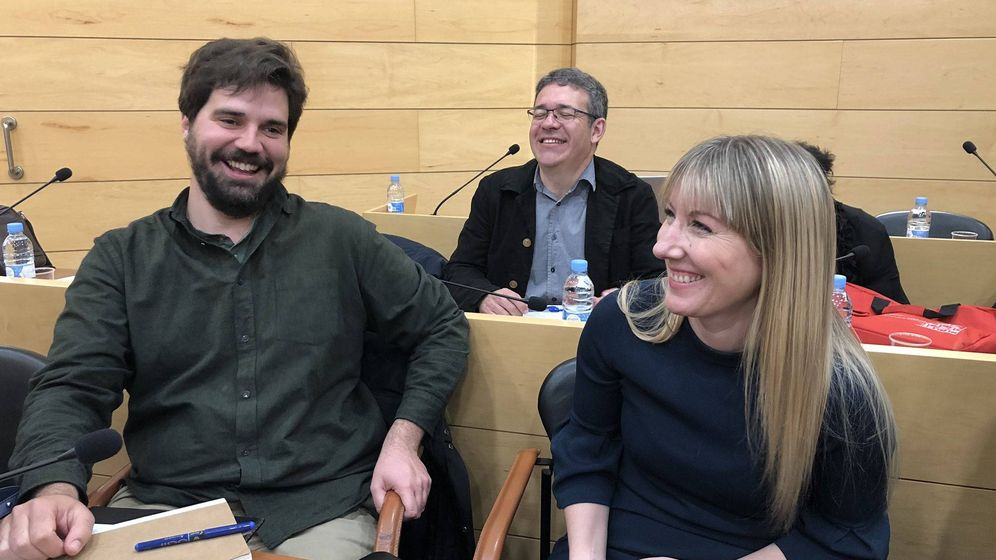 Foto: Gonzalo Sánchez-Toscano, Valentín Villarroel y Patricia García Cruz, los tres ediles de Contigo Por Las Rozas que ahora se presentan con Unidas Por Las Rozas.