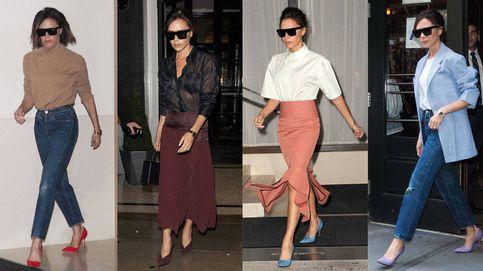 Los 4 looks de Victoria Beckham que te ayudarán a empezar el otoño derrochando estilo