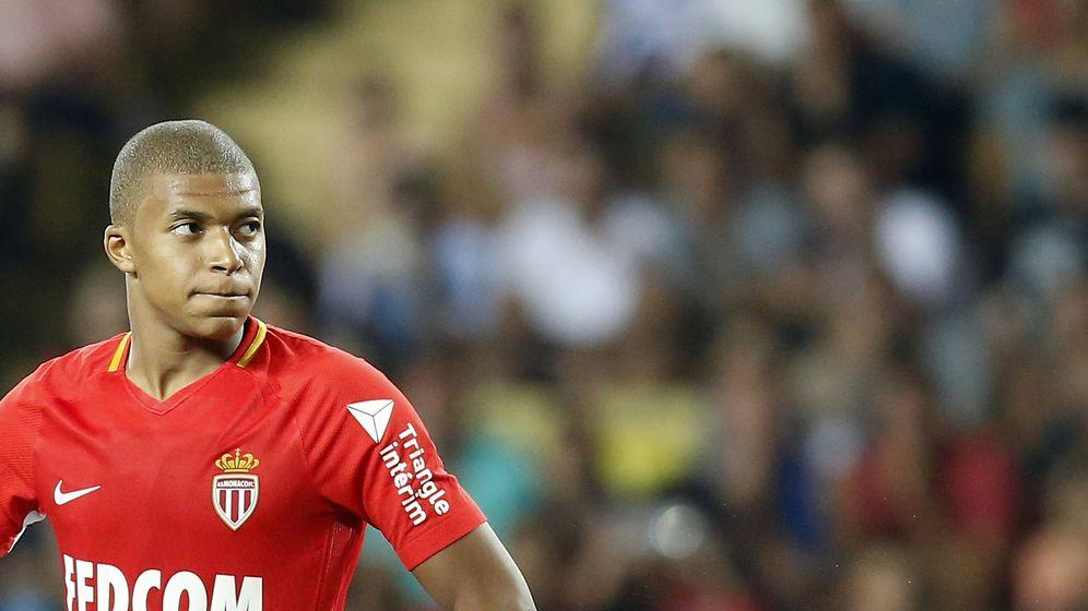 Foto: Mbappé se retiró lesionado el viernes en el debut del Mónaco en la Ligue 1 esta temporada. (EFE)