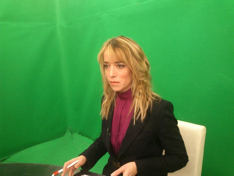 Foto: Así es Nadia Halamandari, la otra periodista de la corte