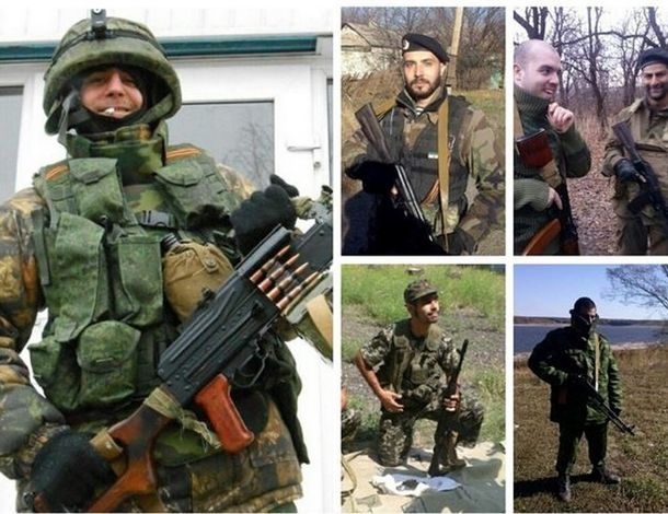 Foto: Detienen a ocho milicianos españoles tras combatir en el conflicto de Ucrania