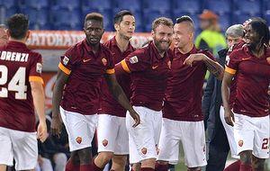 'Cazan' a los jugadores de la Roma en un club de striptease de Moscú