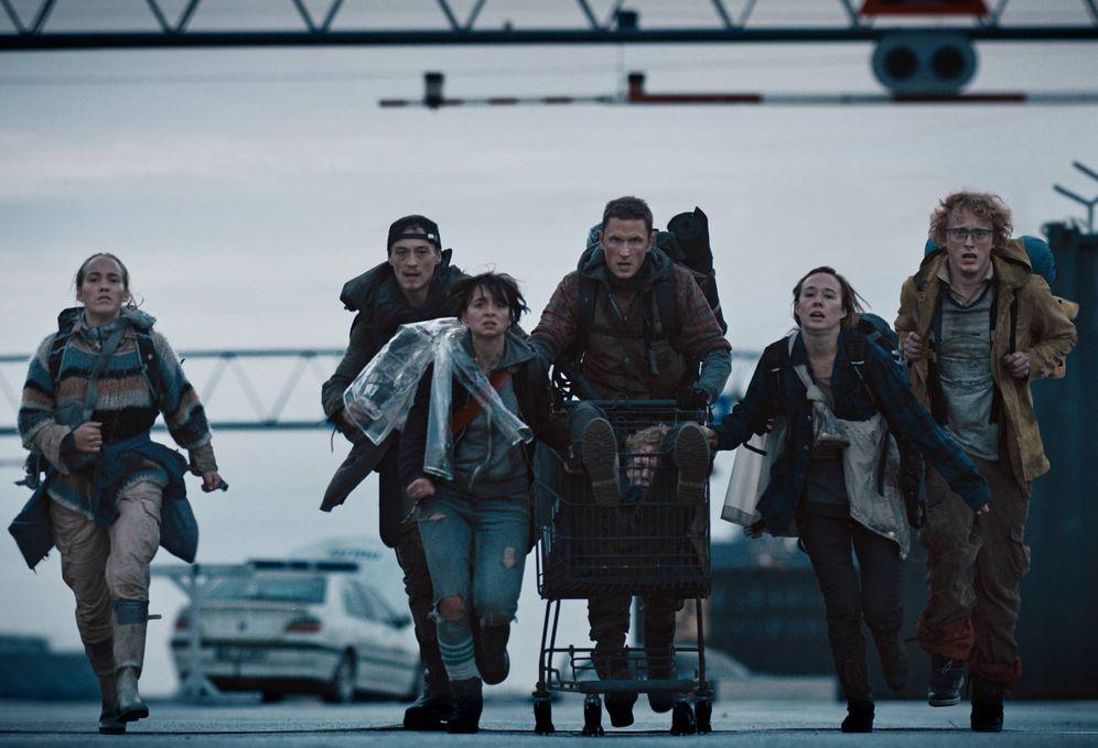 Foto: Secuencia de la serie danesa de Netflix 'The Rain'. (Netflix)