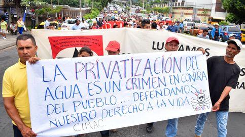 Contra la privatización del agua en El Salvador