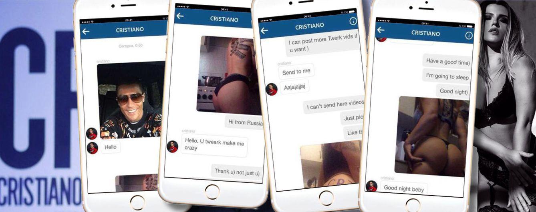 Foto: Los pantallazos de las supuestas conversaciones en un montaje realizado por Vanitatis