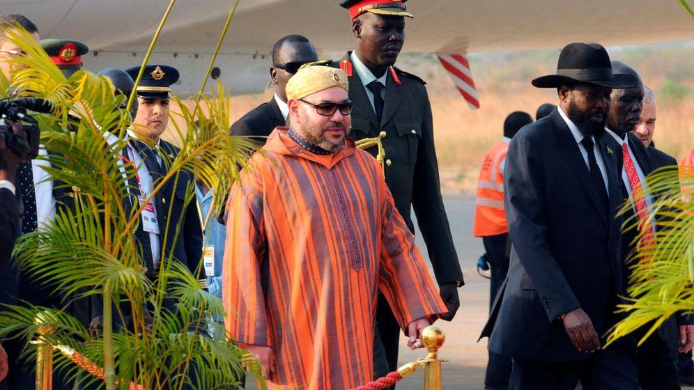 Foto: El rey Mohamed VI en su viaje a Sudáfrica el pasado mes de febrero. (Reuters)