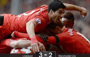 El Liverpool se aferra al sueño de ganar la Premier pese a David Silva