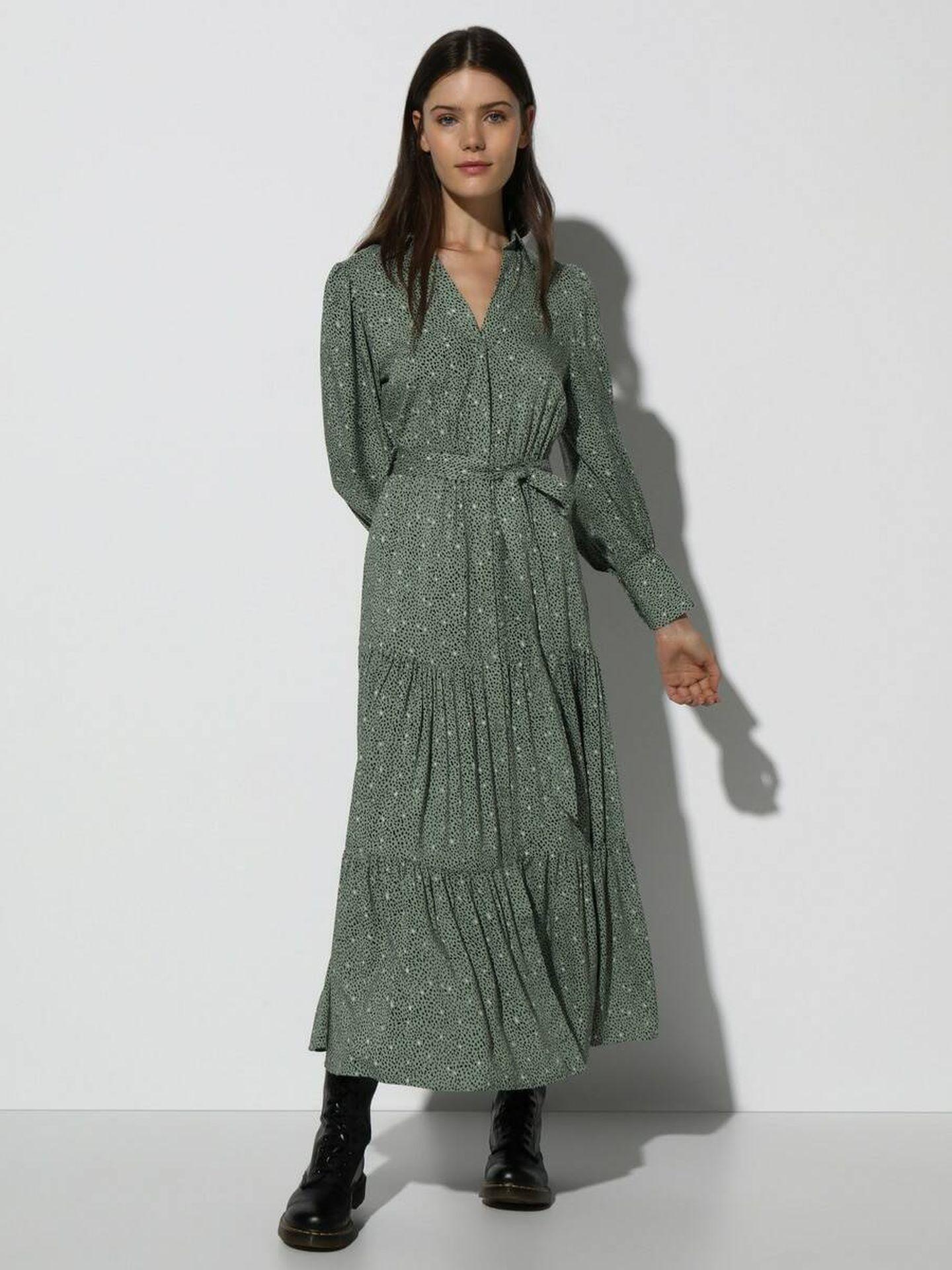 Vestido estampado a la venta en El Corte Inglés. (Cortesía)
