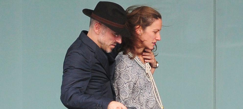 Foto: Telma Ortiz y Jaime del Burgo en una imagen de archivo en el aeropuerto de Barcelona (Gtres)