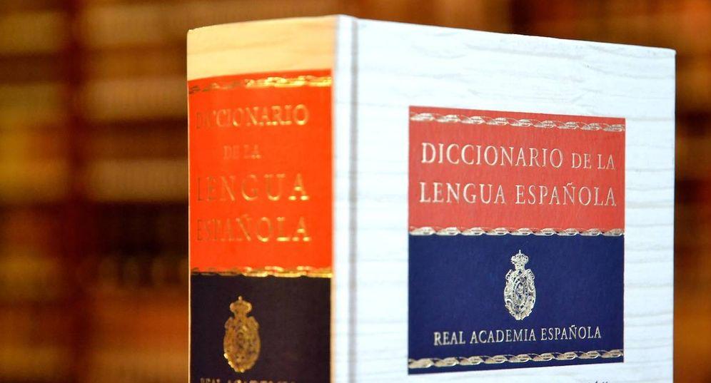 Foto: Diccionario de la RAE.