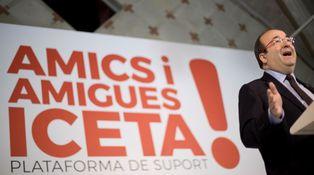 Iceta quiere ser 'president', pero las cuentas…
