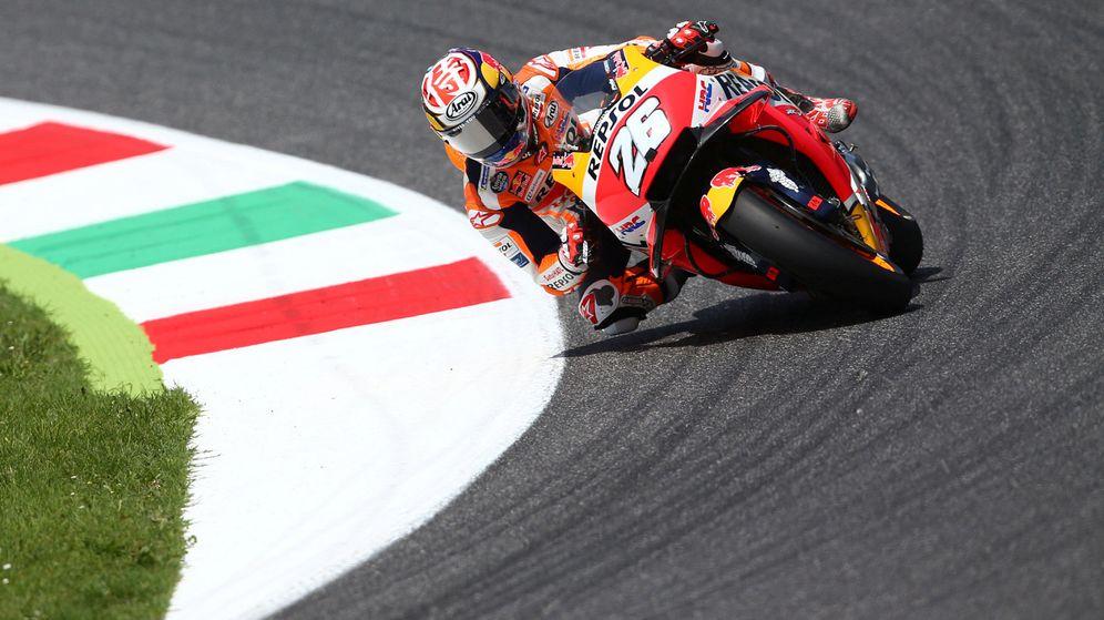 Foto: Dani Pedrosa durante esta temporada, en el GP de Italia. (Reuters)