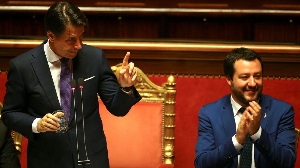 Primera victoria europea de la Italia de la Liga: tumba la reforma del sistema de asilo