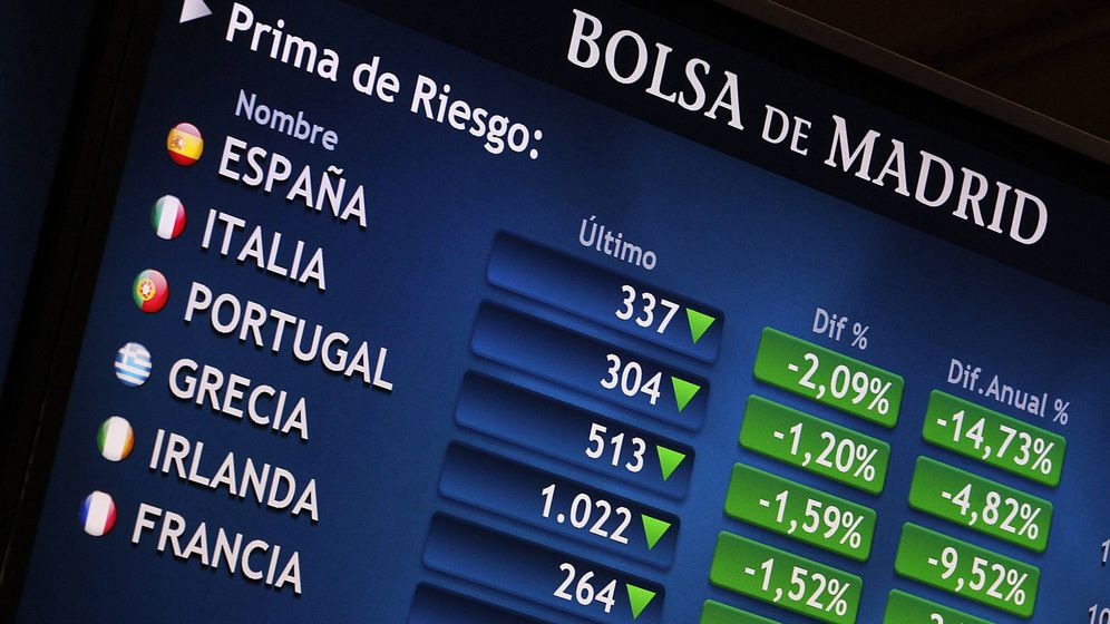 Foto: Una imagen de la Bolsa de Madrid. (EFE)