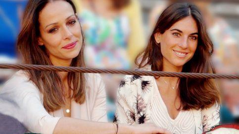 Eva González y Lourdes Montes, primer día de playa a mil kilómetros de distancia