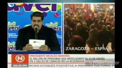 Maduro canta el 'Que viva España' después de atizar a Pedro Sánchez: Usted no es un presidente electo
