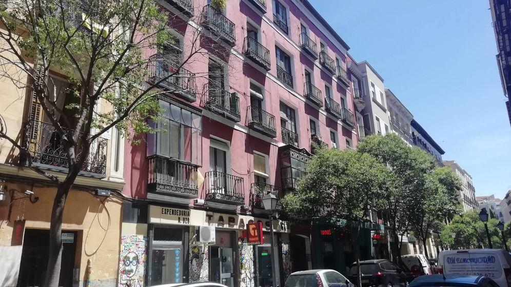 Foto: El edificio de la calle Manuela Malasaña, 18