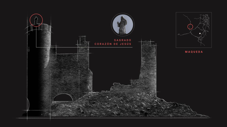 El mapa de los 10.000 castillos de España:  la joya de la que nadie quiere encargarse