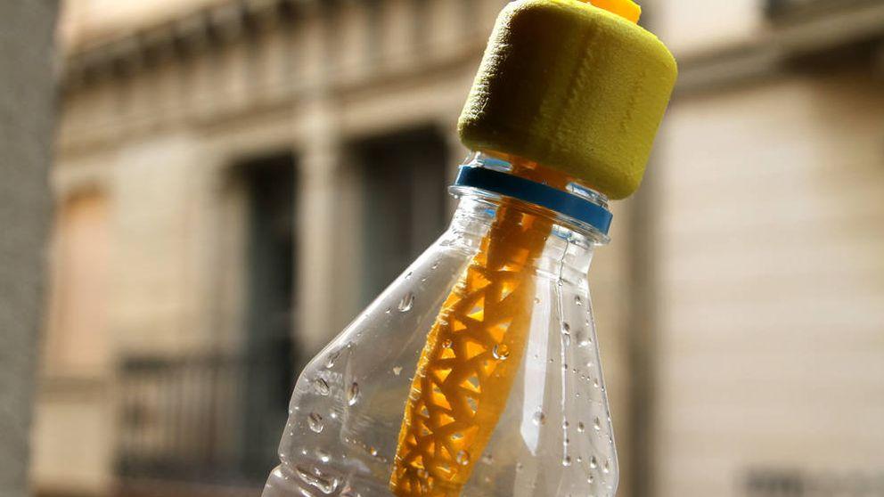 El tapón que 'potabiliza' el agua por un dólar