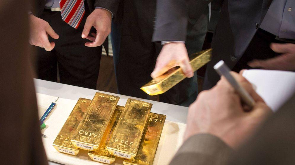 Foto: Oro del Bundesbank (Efe)