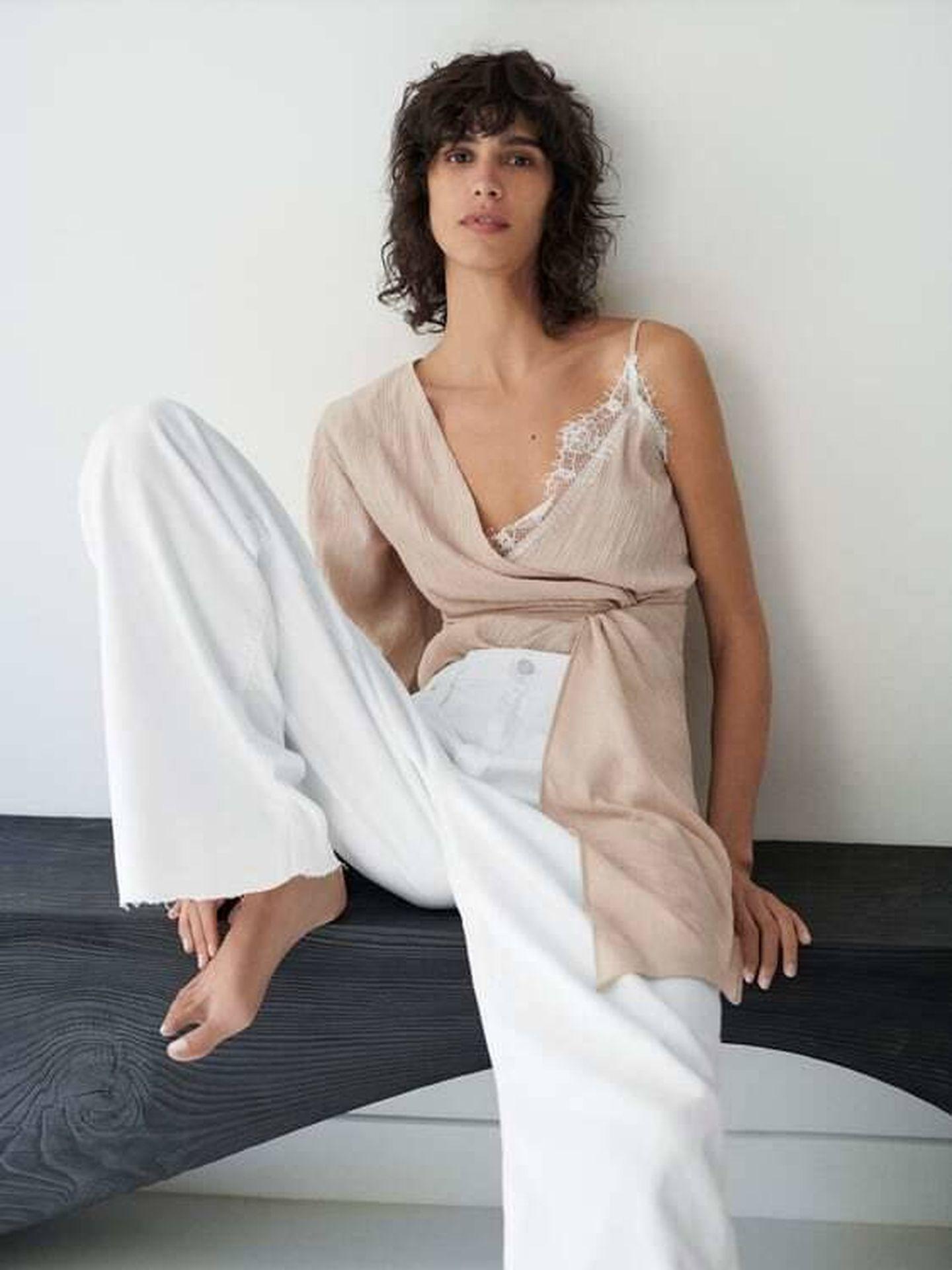 La blusa de Zara. (Cortesía)