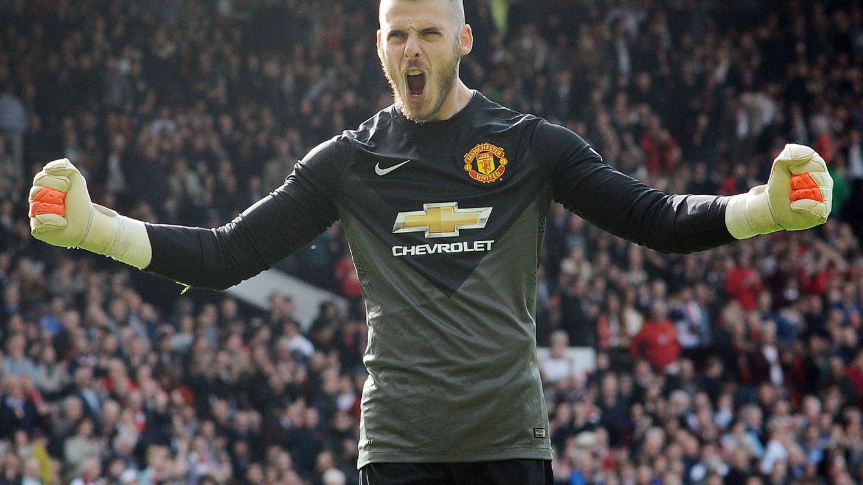Foto: David de Gea, en un partido con el Manchester United