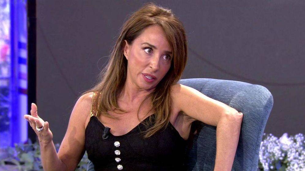 Foto: María Patino, en 'Sábado Deluxe'. (Telecinco).