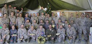 """Post de Así pasan la Navidad los soldados españoles en Irak: """"Aquí tu familia son tus compañeros"""""""