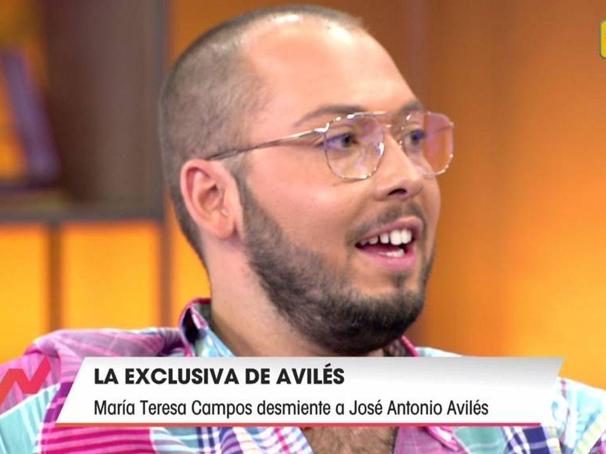 Foto: José Antonio Avilés, en 'Viva la vida'. (Telecinco).