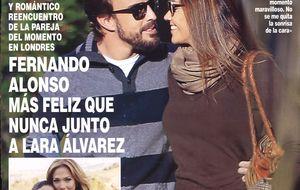 Romántica escapada a Londres de Lara Álvarez y Fernando Alonso