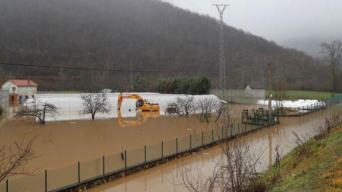 Alerta por el temporal: ríos desbordados, nieve, lluvia y carreteras cortadas