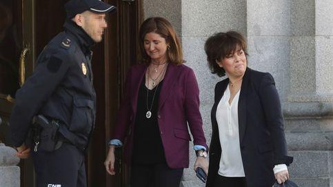 Santamaría dice que la  independencia  no fue simbólica: Por eso aplicamos el 155