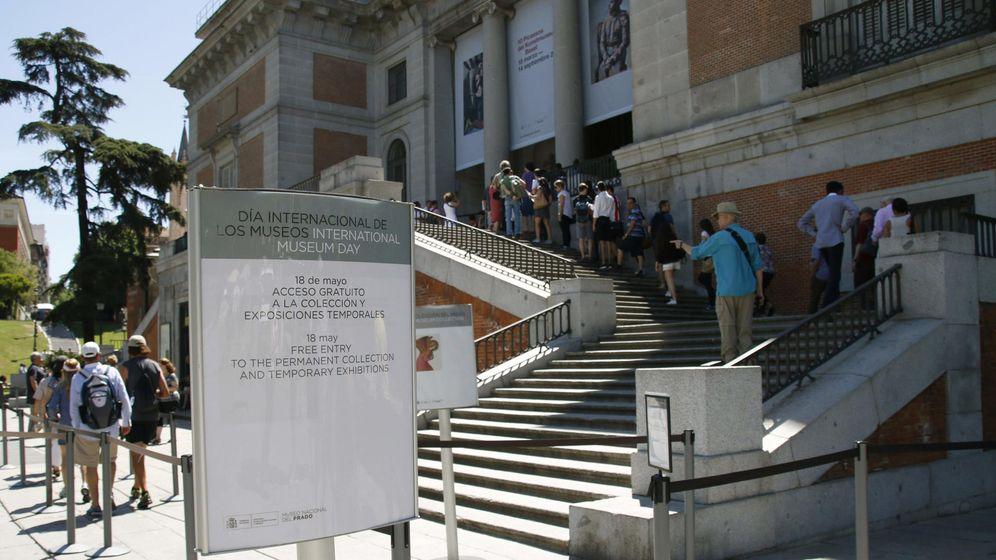 Foto: Cola para entrar en el Museo del Prado de Madrid. (EFE)