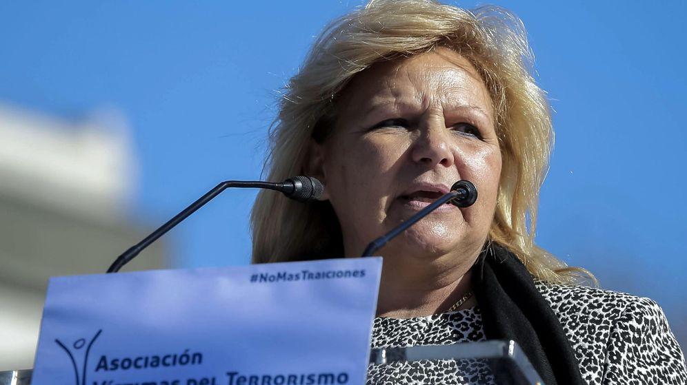 Foto: La expresidenta de la Asociación de Víctimas del Terrorismo Ángeles Pedraza. (EFE)