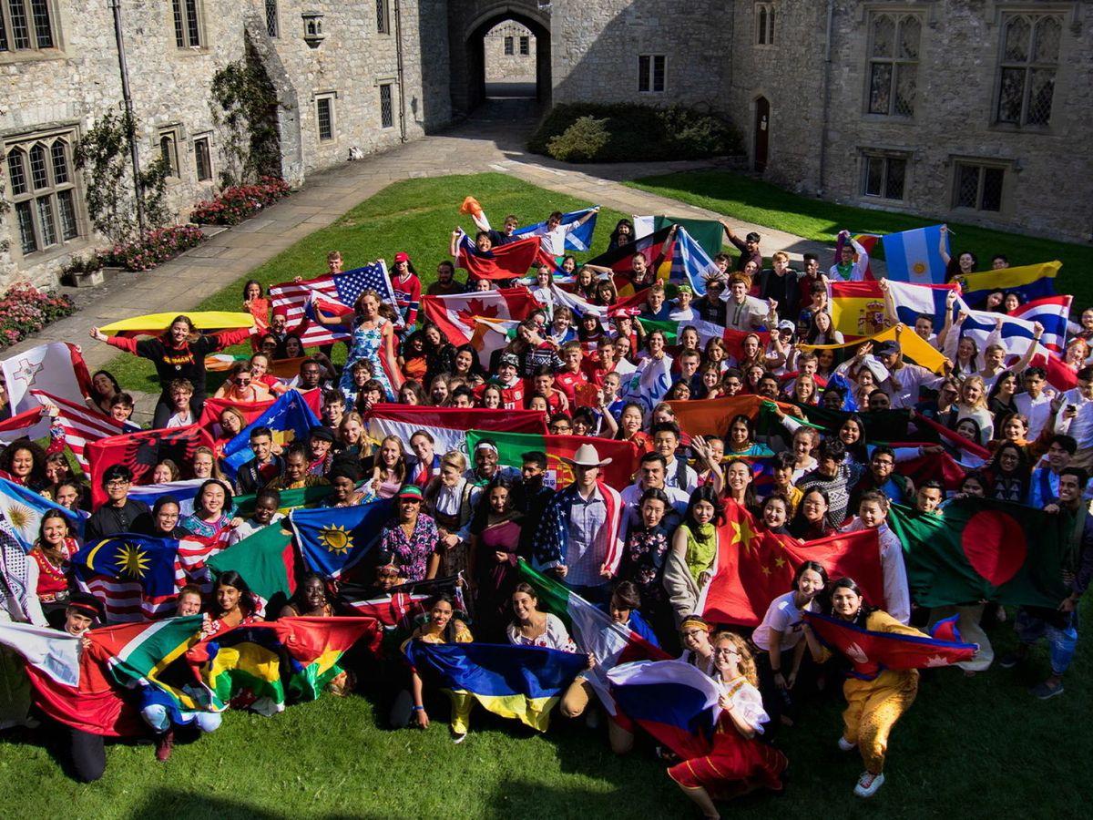 Foto: Una imagen de alumnos del UWC. (EFE)