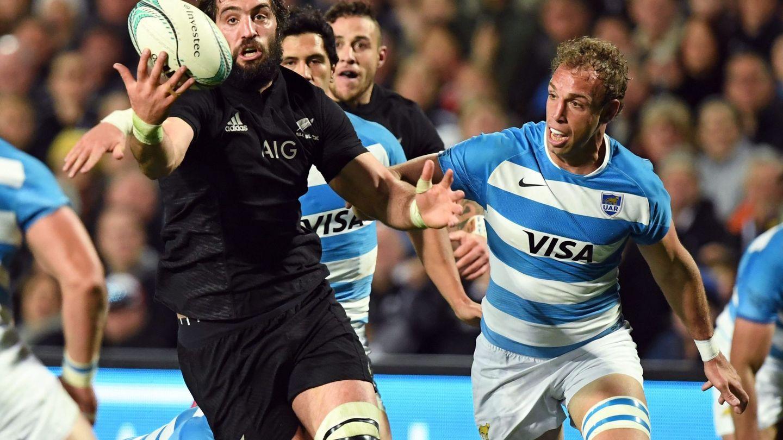Partido entre los All Blacks y Argentina del pasado mes de septiembre. (REUTERS)