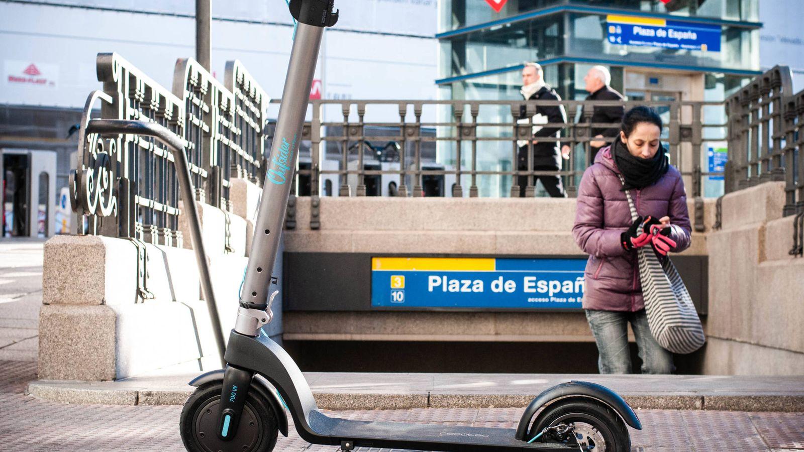 Foto: Nos hemos estado moviendo con el patinete eléctrico de Cecotec un mes por Madrid. (C. Castellón)