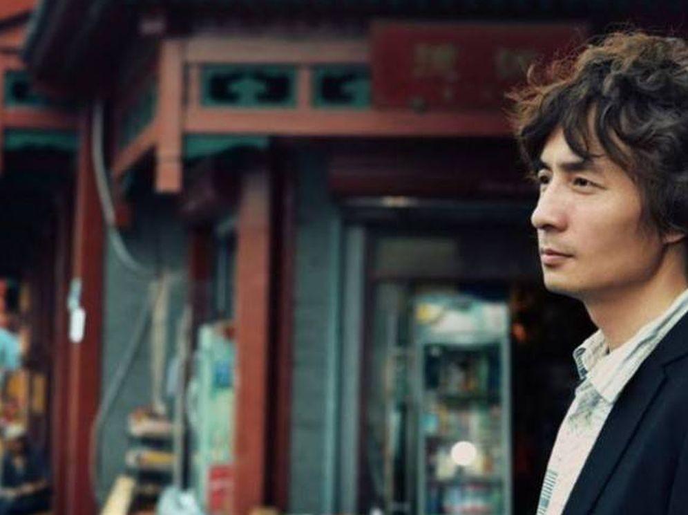 Foto: El escritor chino Ah Yi.