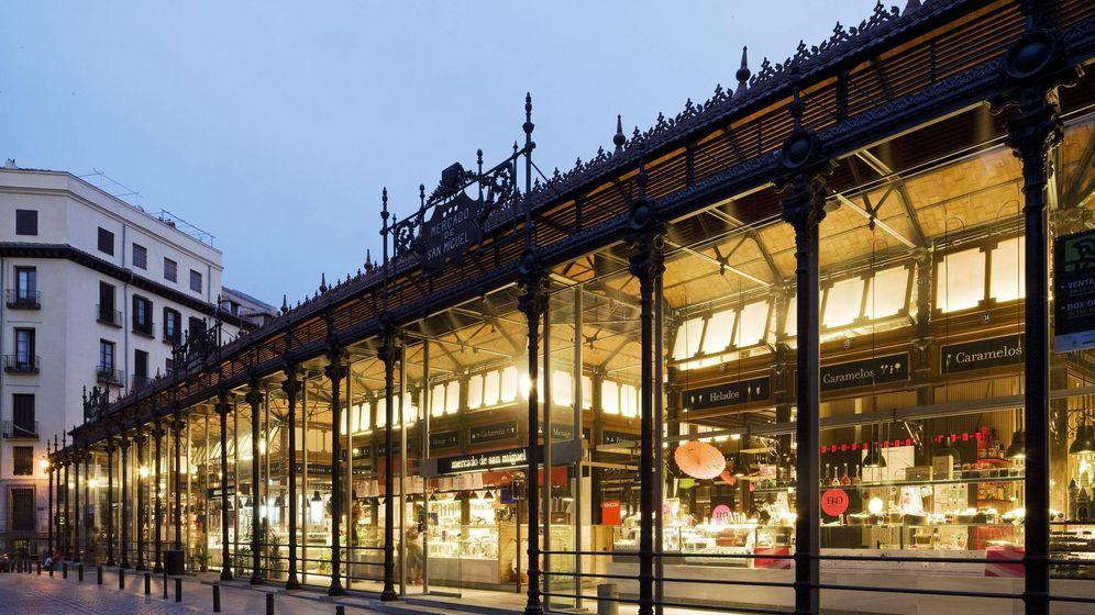 Foto: El histórico Mercado de San Miguel, vendido a un fondo holandés por un precio récord
