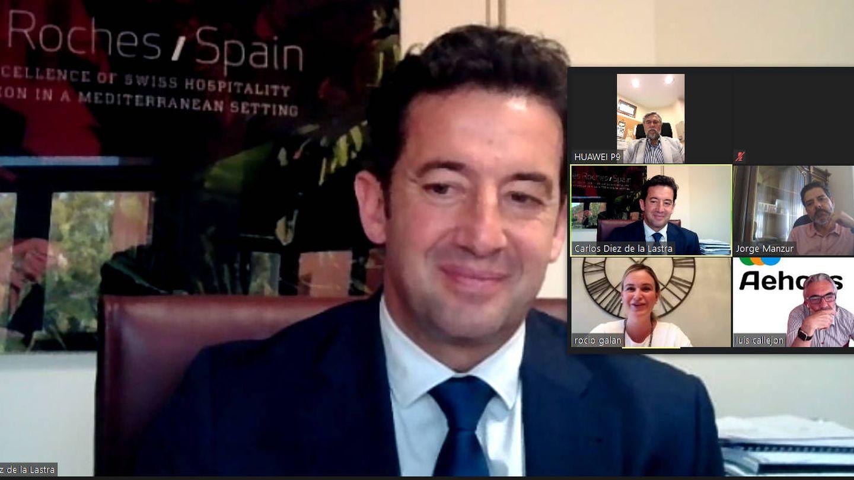 Carlos Díez de la Lastra, ayer, en el seminario web.