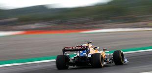 Post de Cuando Carlos Sainz terminaba mirando de reojo al otro coche de Lando Norris