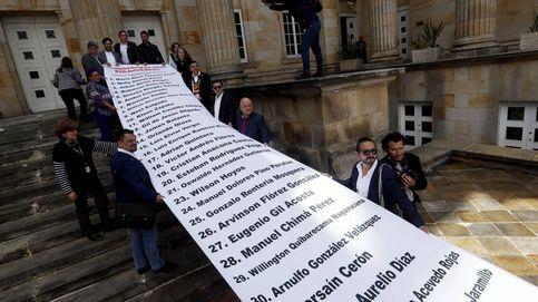Marcha contra asesinato de líderes en Colombia