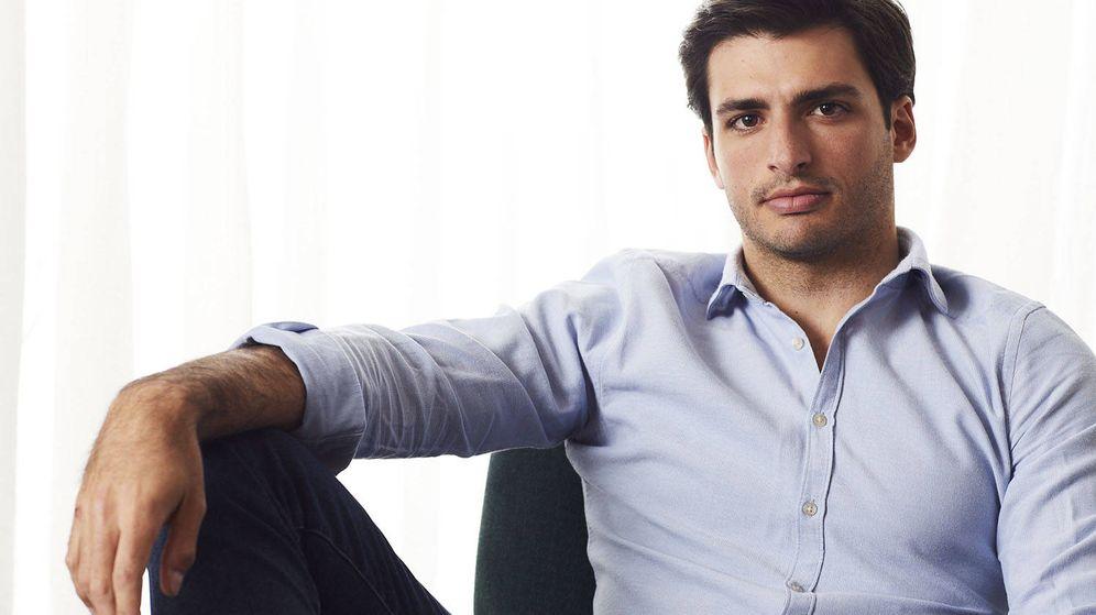 Foto: Carlos Sainz, imagen de Shiseido Men. (Cortesía)